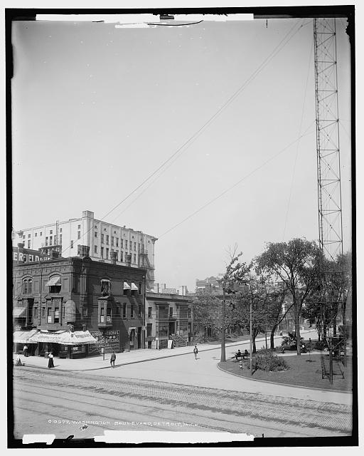 Washington Boulevard, Detroit, Mich.