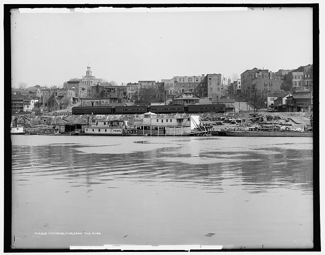 Vicksburg, Miss., from the river