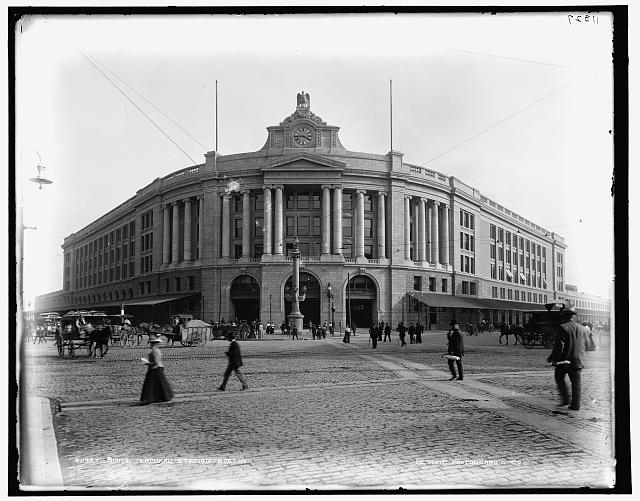 South Terminal Station, Boston