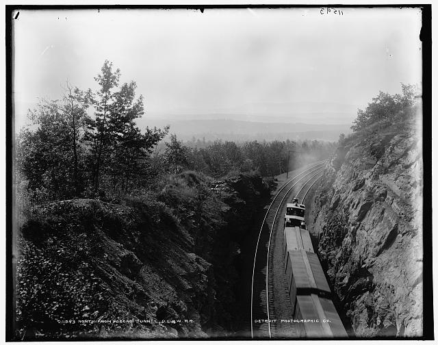 North from Pocono Tunnel, D.L. & W.R.R.