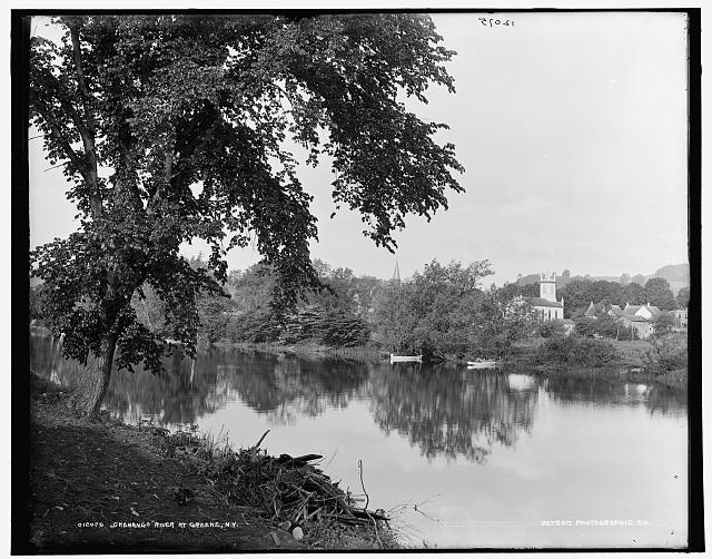 Chenango River at Greene, N.Y.