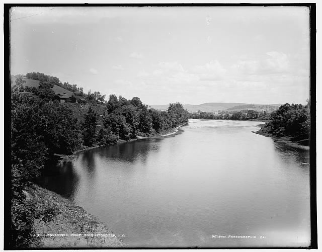 Susquehanna River near Litchfield, N.Y.
