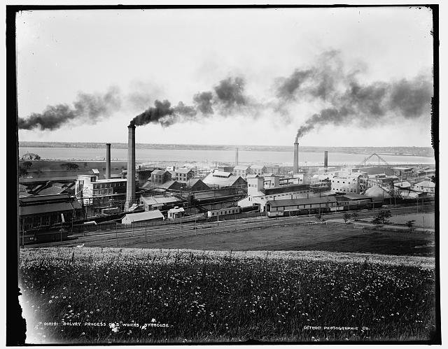Solvay Process Co.&#39;s works, Syracuse [i.e. Solvary]
