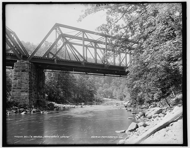 Bell's Bridge, Brodhead's Creek