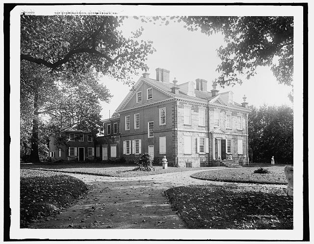 Cliveden, Chew Mansion, Germantown, Pa.