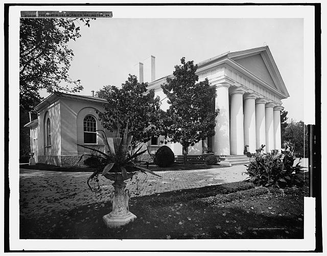 The Custis-Lee Mansion [i.e. Arlington House, the Robert E. Lee Memorial], Arlington, Va.