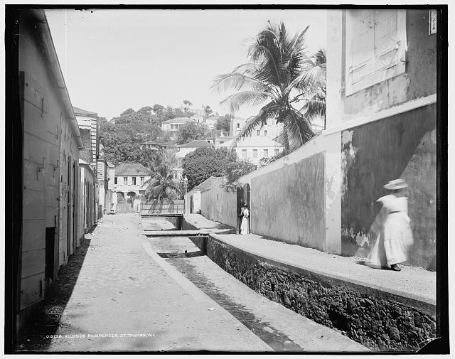 Hillside residences, St. Thomas, W.I.