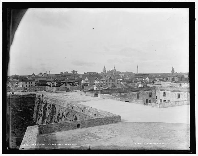 St. Augustine from Fort Marion