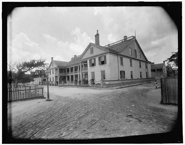 [Fort Marion, the barracks, St. Augustine, Fla.]