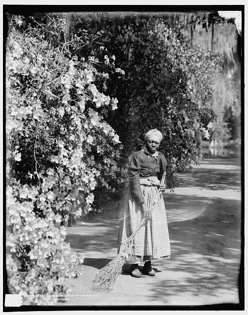 Aunt Phoebe, Magnolia-on-the-Ashley [i.e. Magnolia Gardens], Charleston, S.C.