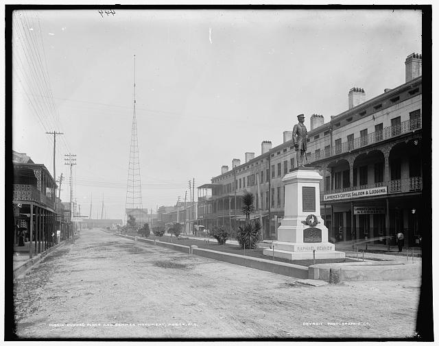 Duncan Place and Semmes Monument, Mobile, Ala.