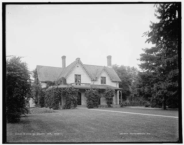 A Home on Grosse Isle, Mich.
