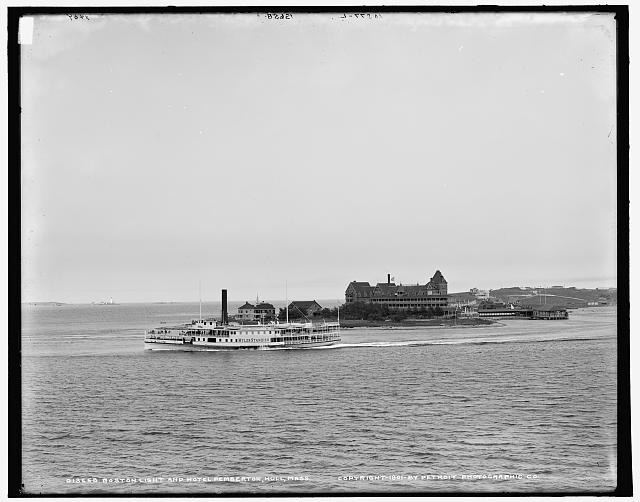 Hull, Mass., from Paddock's Island