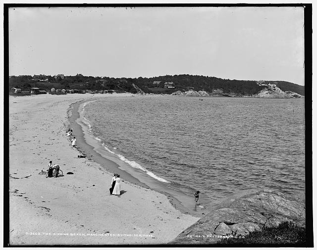 The Singing beach, Manchester-by-the-Sea, Mass.
