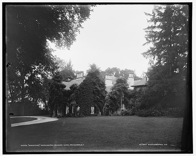 Sunnyside, Washington Irving's home, Irvington, N.Y.