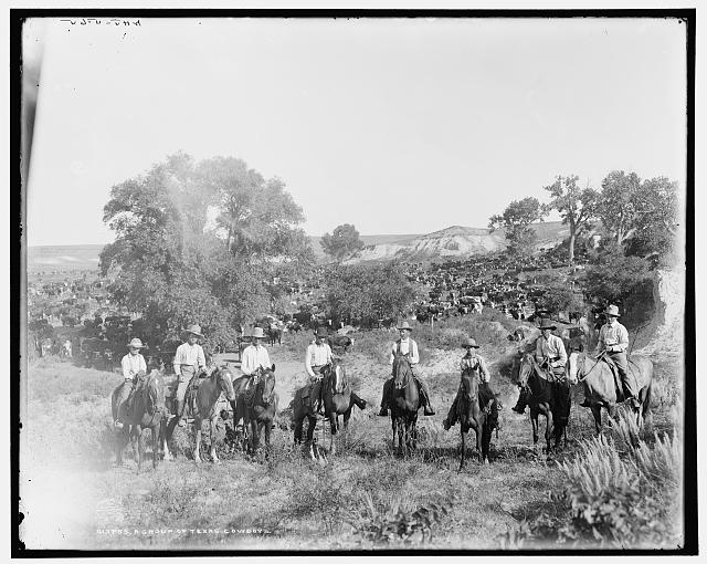 A group of Texas cowboys