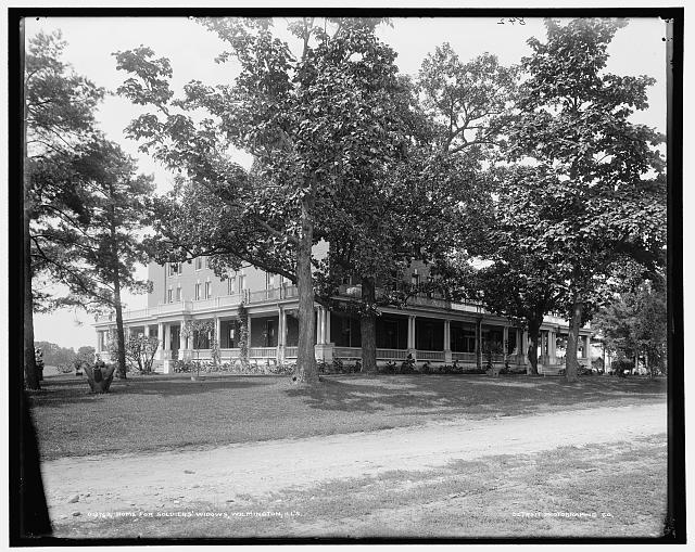 Home for soldiers' widows, Wilmington, Ill's.
