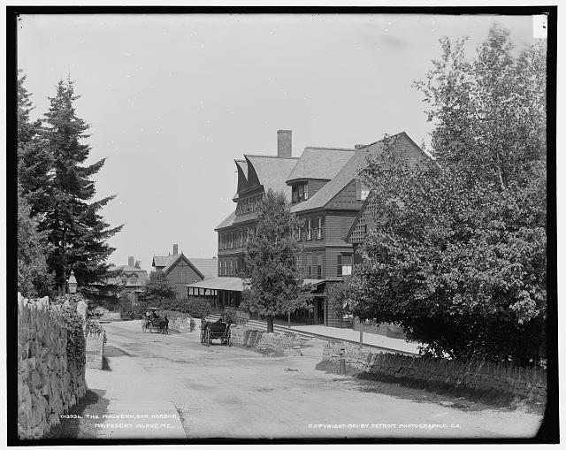 The Malvern, Bar Harbor, Mt. [i.e. Mount] Desert Island, Me.