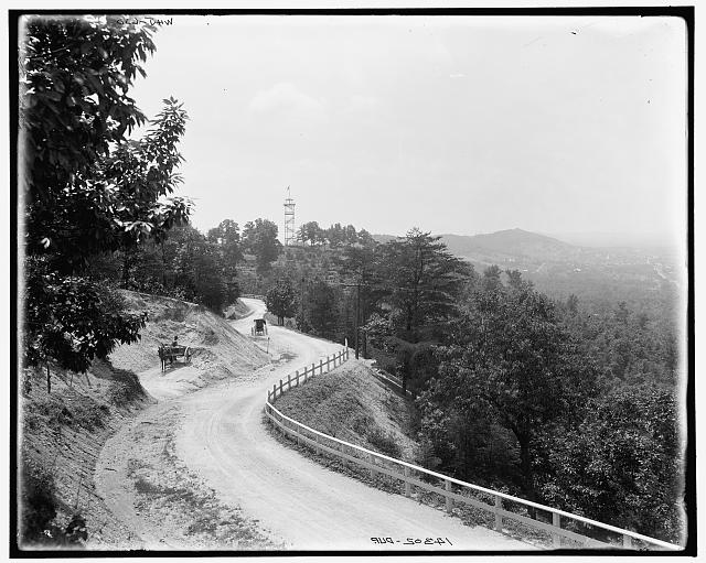 The National Boulevard on Missionary Ridge