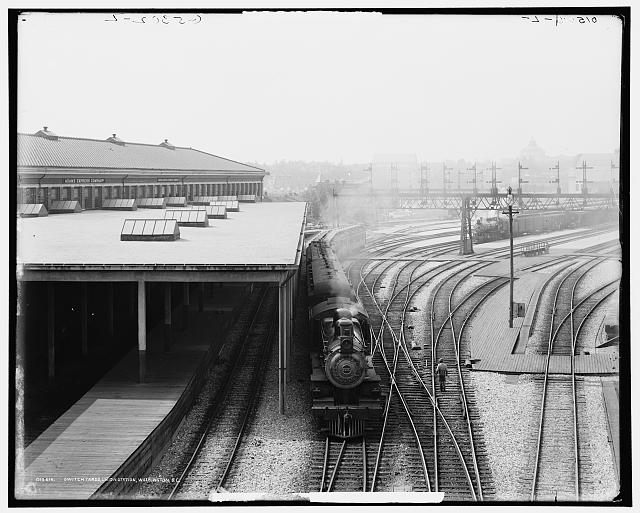 Switch yards, Union Station, Washington, D.C.