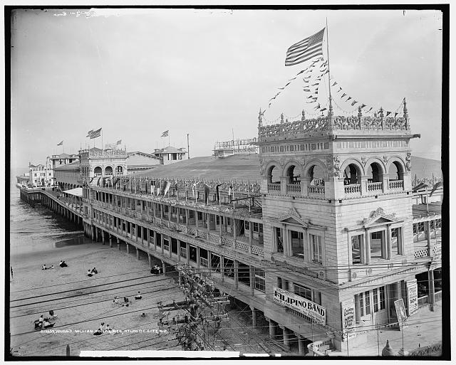 Young's Million Dollar Pier, Atlantic City, N.J.