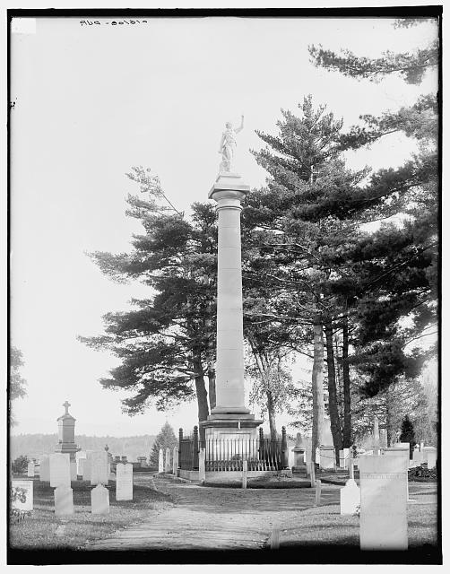[Ethan Allen Monument, Burlington, Vt.]
