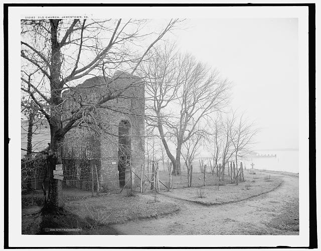 Old church, Jamestown, Va.