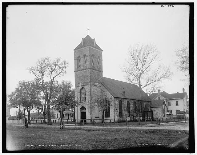 Christ's Church [i.e. Old Christ Church], Pensacola, Fla.