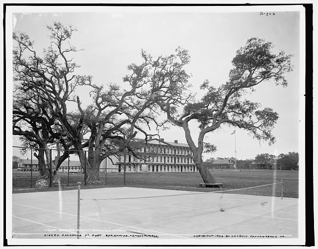 Barracks at Fort Barrancas, Pensacola, Fla.