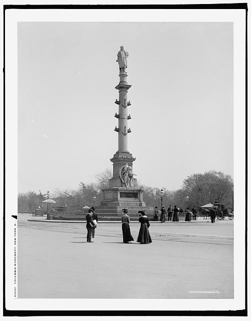 Columbia [i.e. Columbus] Monument, New York, N.Y.