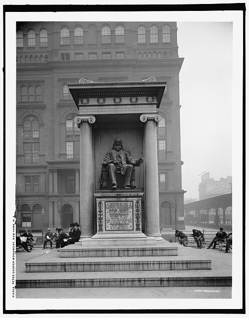 Peter Cooper Monument, New York, N.Y.