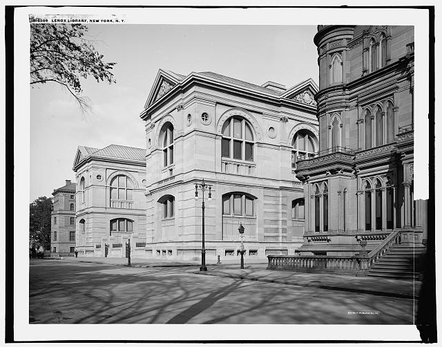 Lenox Library, New York, N.Y.