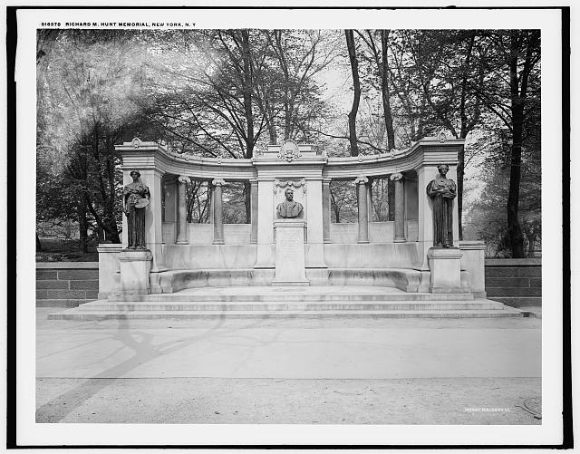 Richard M. Hunt Memorial, New York, N.Y.