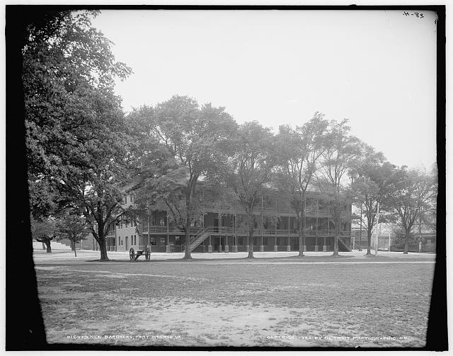 New barracks, Fort Monroe, Va.