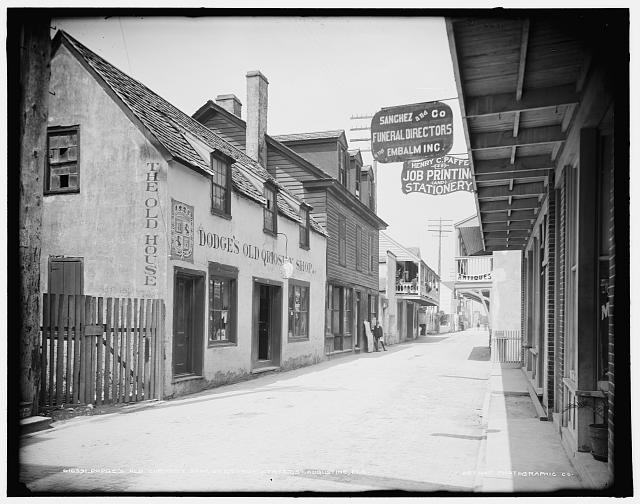 Dodge's Old Curiosity Shop, St. George Street, St. Augustine, Fla.