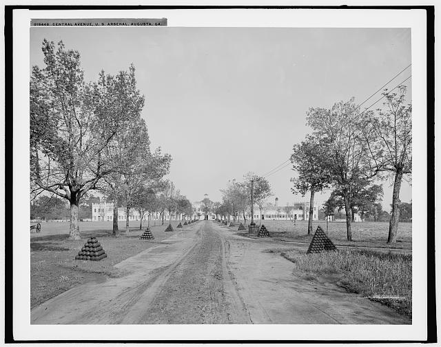 Central Avenue, U.S. Arsenal, Augusta, Ga.