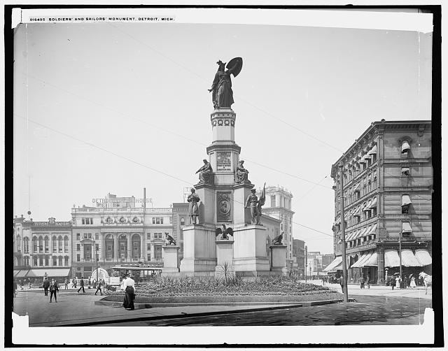 Soldiers' and Sailors' Monument, Detroit, Mich.