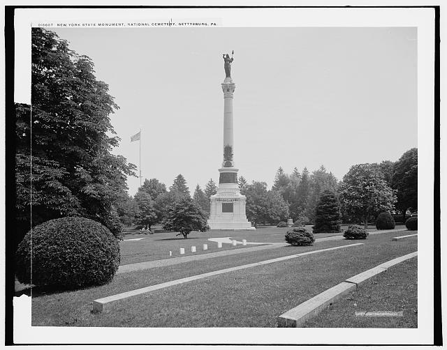 New York State Monument, [Soldiers'] National Cemetery, Gettysburg, Pa.
