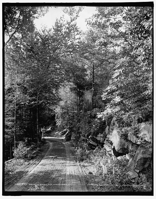 Peterskill road, Lake Minnewaska, N.Y.