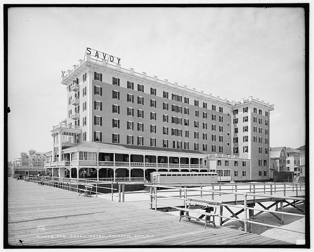 Savoy Hotel, Atlantic City, N.J., The