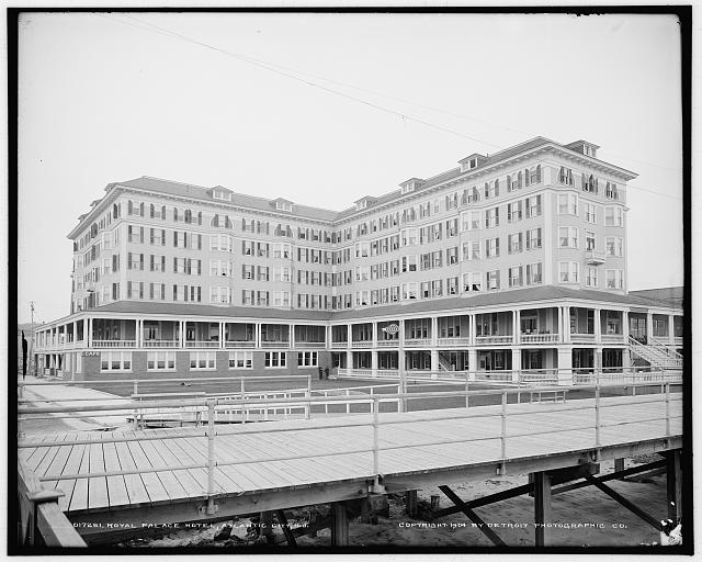 Royal Palace Hotel, Atlantic City, N.J.