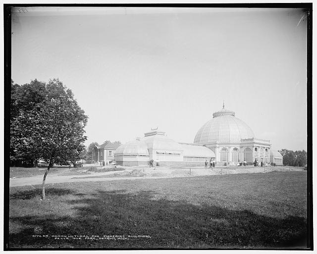 Horticultural and fisheries buildings, Belle Isle Park, Detroit, Mich.