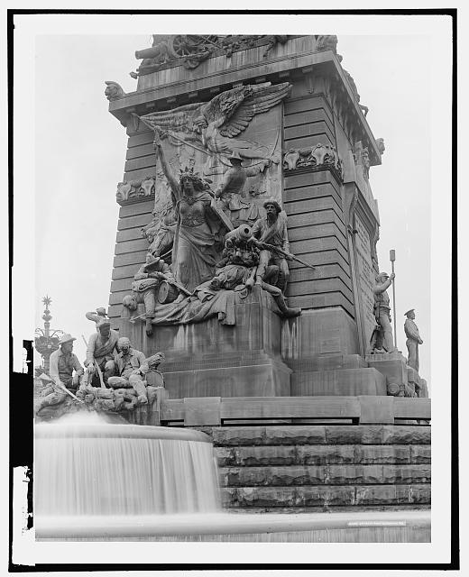 East face, Soldiers' and Sailors' Monument, Indianapolis, Ind.