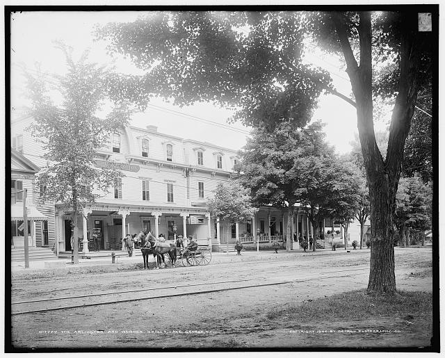 Arlington and Worden Hotels, Lake George, N.Y., The
