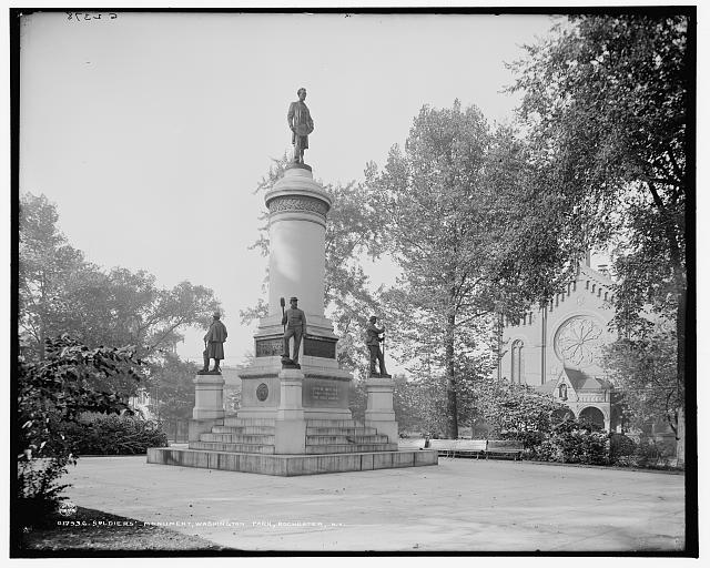 Soldiers' Monument, Washington Park, Rochester, N.Y.