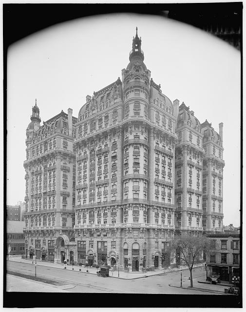[Ansonia Apartments, New York City]