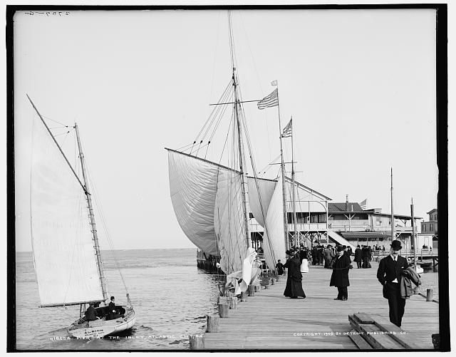 Pier at the inlet, Atlantic City, N.J.