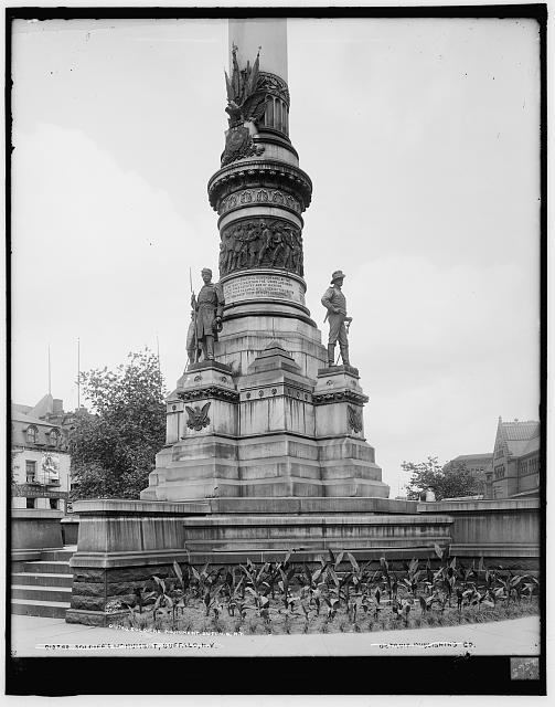 Soldiers' [and Sailors']  Monument, Buffalo, N.Y.
