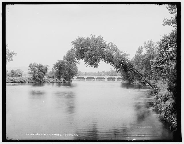 U. & M.V. railway bridge, Herkimer, N.Y.
