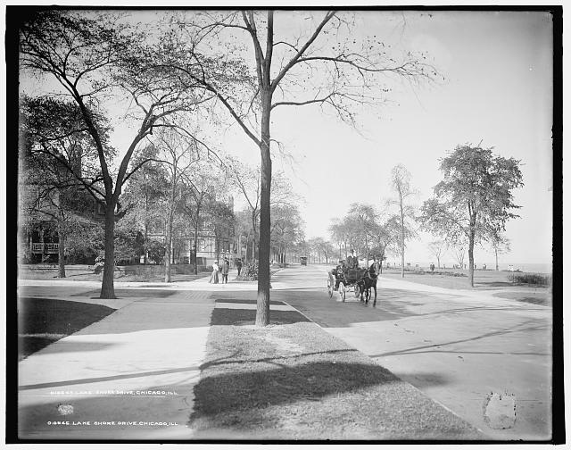 Lake Shore Drive, Chicago, Ill.